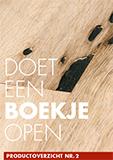 Brochure 2016 Doet een boekje open - Van Laere Hout