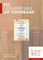 FSC Gefineerd MDF - Van Laere Hout