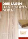 Drie lagen plaat europees noten - Van Laere Hout