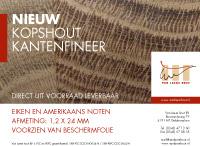 Nieuw kopshout kantenfineer - Van Laere Hout