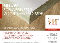 Nieuw Edelgefineerd vochtwerend MDF - Van Laere Hout