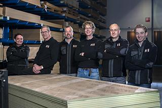 Groepsfoto Van Laere Hout